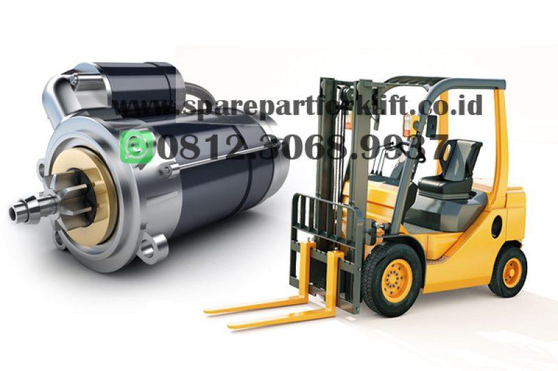 Starter Assy (Dinamo Starter) Forklift Toyota, Komatsu, Mitsubishi, Isuzu ,CAT