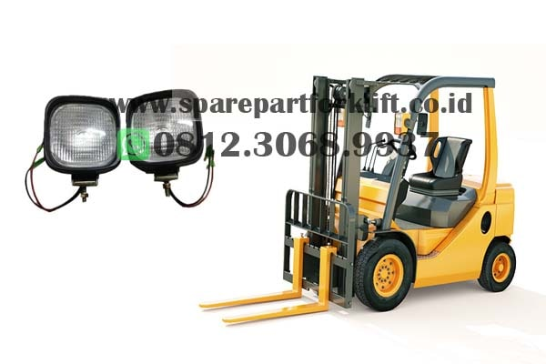 lampu forklift surabaya, head lamp, lampu safety