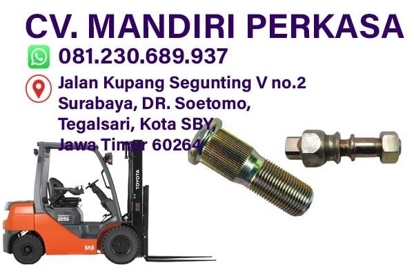 Baut Roda Forklift, Jual Baut Roda, Baut Ban Forklift