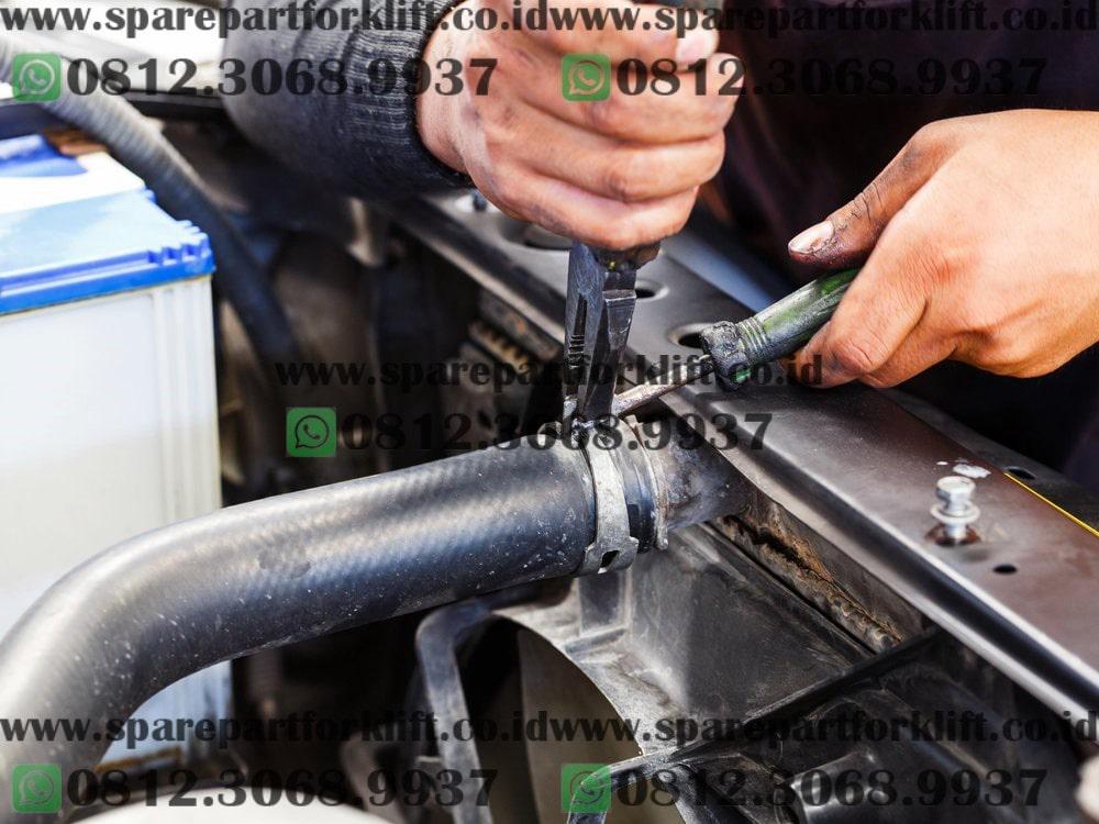 selang radiator forklift, hose radiator forklift
