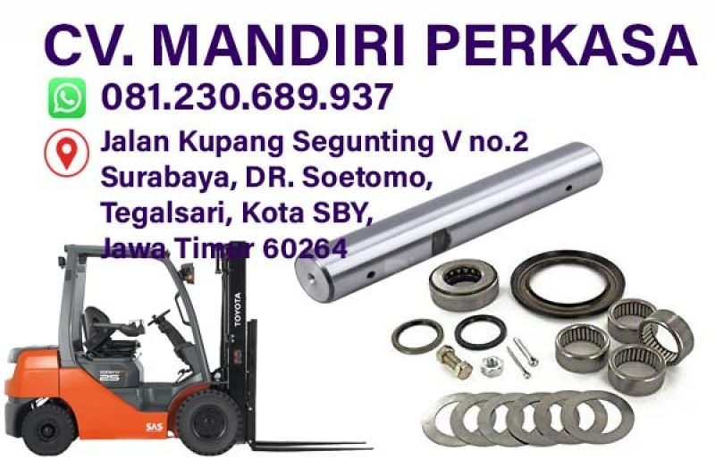 Jual King Pin Forklift, Pin Bell Crank, Seal Kit King Pin √